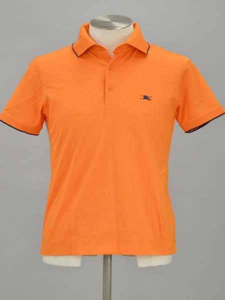 6fec6707e1b87 BURBERRY GOLF バーバリー ゴルフ 買取事例 半袖ポロシャツMオレンジ ...